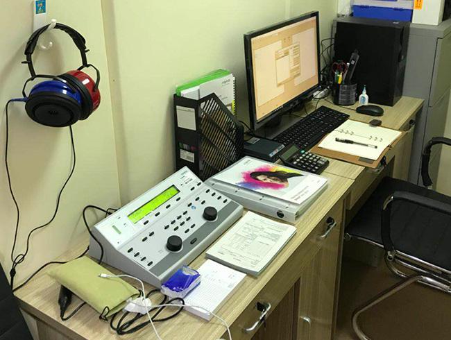 西门子助听器(西单金象大药房) 验配环境展示